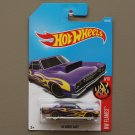 Hot Wheels 2017 HW Flames '68 Dodge Dart (purple)