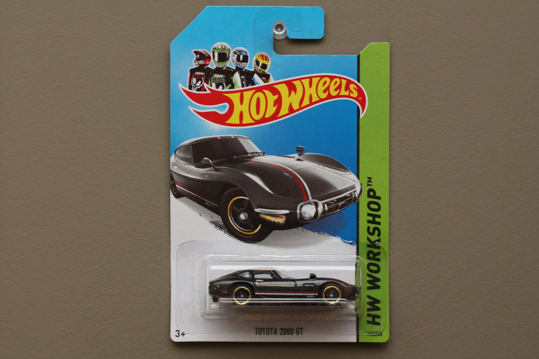 Hot Wheels 2014 HW Workshop Toyota 2000 GT (black) (SEE CONDITION)