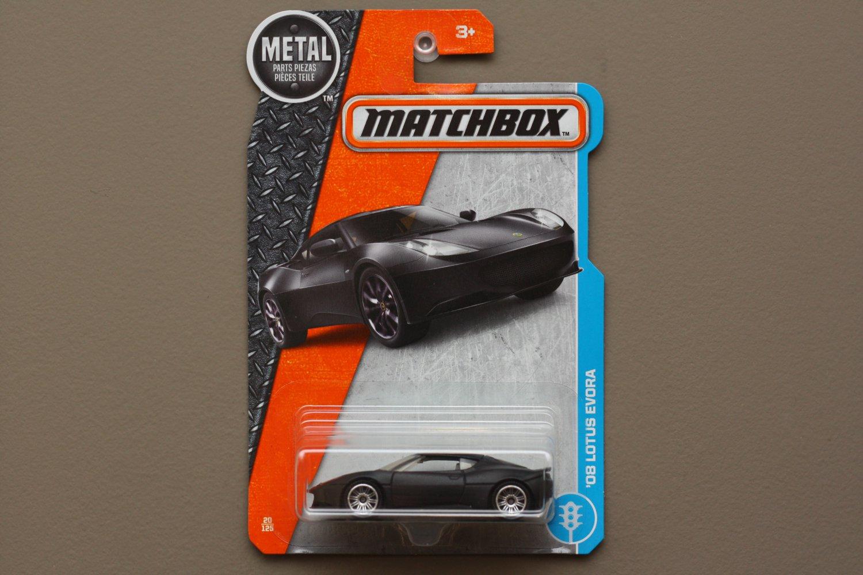 Matchbox 2017 MBX Adventure City '08 Lotus Evora (black)