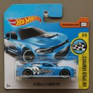 Hot Wheels 2017 HW Speed Graphics '15 Dodge Charger SRT Hellcat (blue)