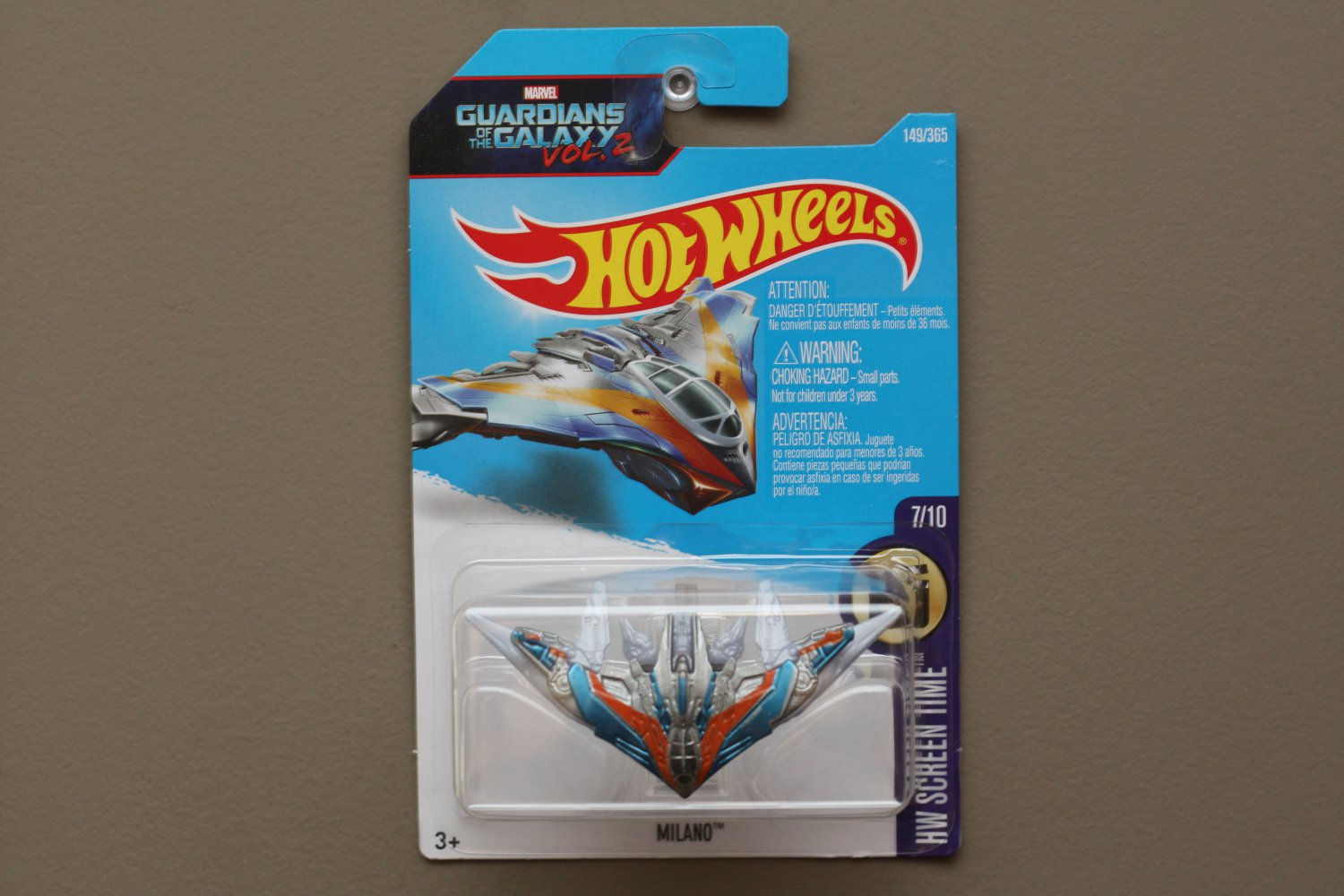 Hot Wheels 2017 HW Screen Time Milano (Guardians Of The Galaxy Vol. 2)
