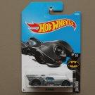 Hot Wheels 2017 Batman Batmobile (1989) (graphite) (SEE CONDITION)