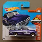 Hot Wheels 2017 HW Hot Trucks '67 Chevy C10 (purple) (SEE CONDITION)