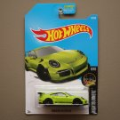 Hot Wheels 2017 Nightburnerz '16 Porsche 911 GT3 RS (green)