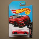 Hot Wheels 2017 Camaro Fifty '17 Camaro ZL1 (red) (SEE CONDITION)