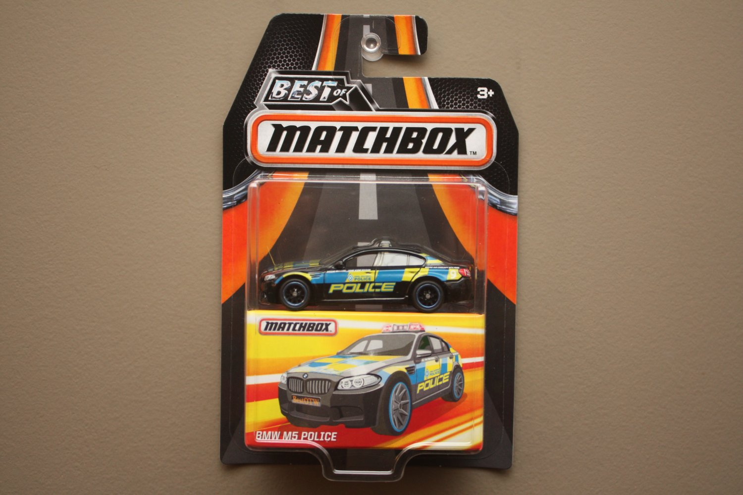 Matchbox 2017 Best Of Series BMW M5 Police