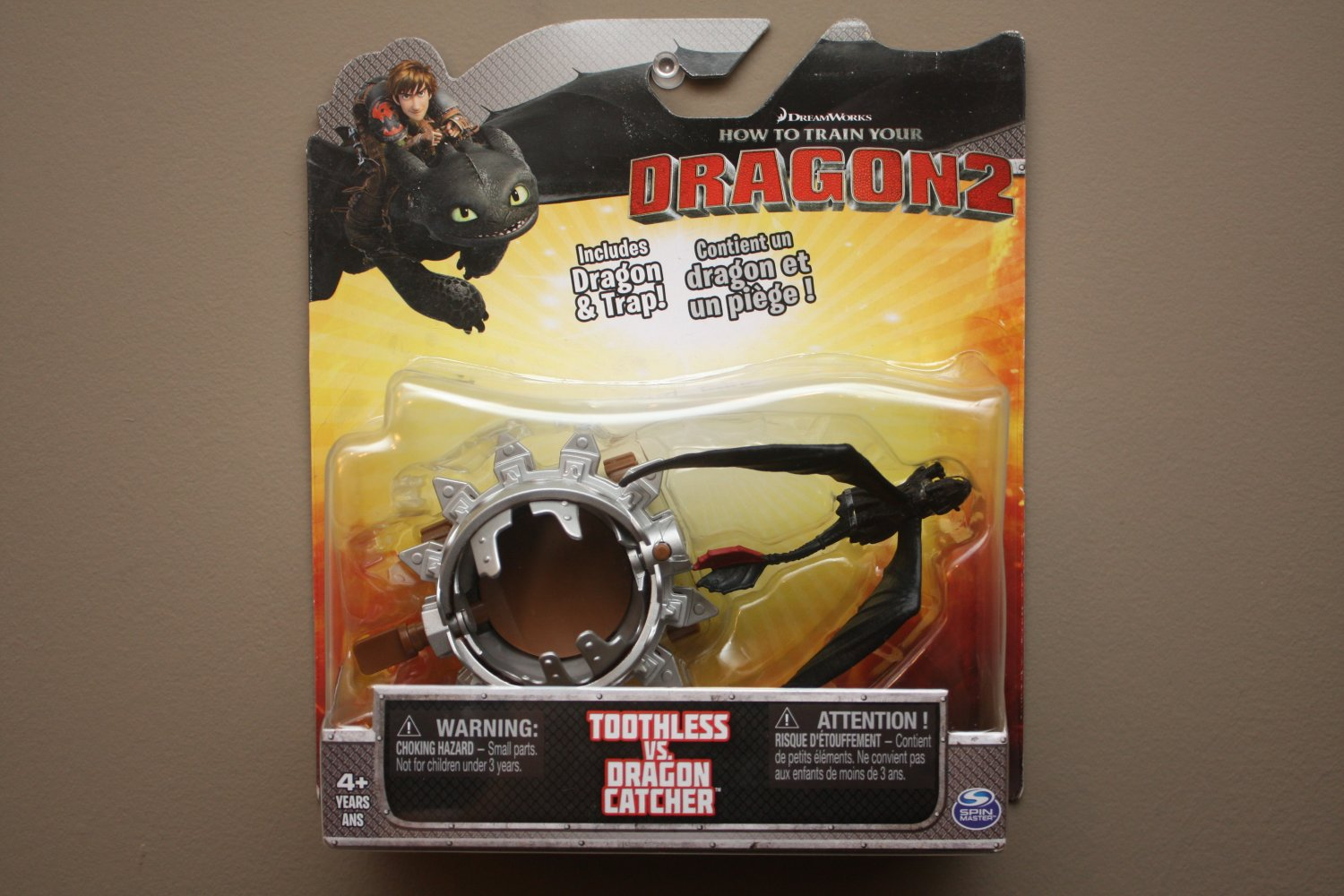 Spin Master How To Train Your Dragon 2 Toothless vs Dragon Catcher Play Set