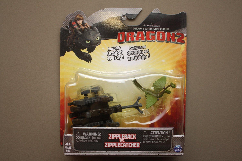 Spin Master How To Train Your Dragon 2 Zippleback vs Zipplecatcher Play Set
