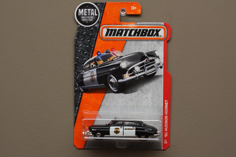 Matchbox 2017 MBX Heroic Rescue '51 Hudson Hornet (black)