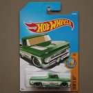 Hot Wheels 2017 Surf's Up Custom '62 Chevy Pickup (green)