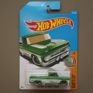 Hot Wheels 2017 Surf's Up Custom '62 Chevy Pickup (green) (SEE CONDITION)