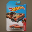 Hot Wheels 2017 HW Flames '68 Chevy Nova (orange)