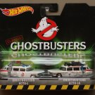 Hot Wheels 2016 Retro Entertainment 2-Pack ECTO-1 & ECTO-1A (Classic Ghostbusters)