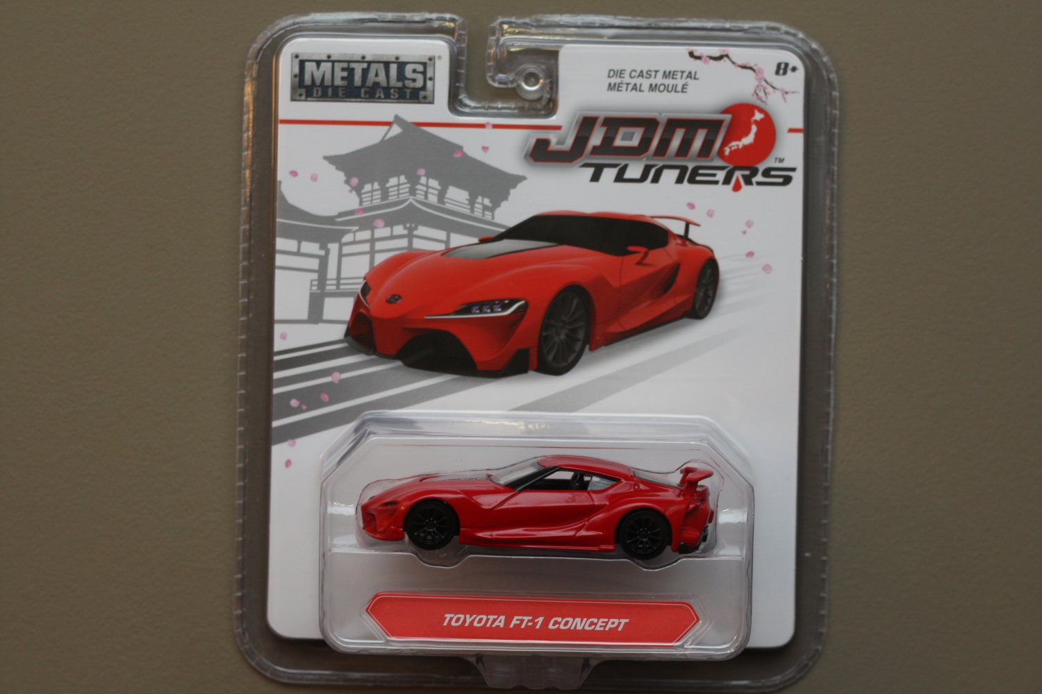Jada Toys 2017 JDM Tuners Toyota FT-1 Concept