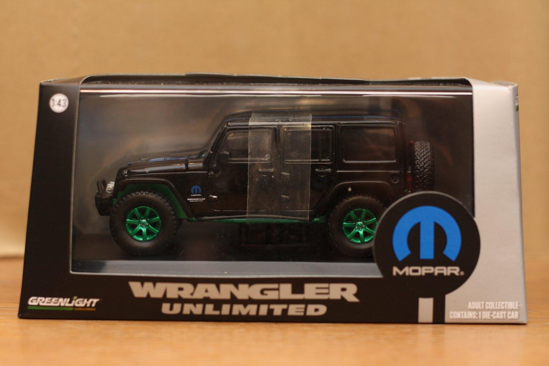 Greenlight Jeep MOPAR Series 1:43 Jeep Wrangler Unlimited (Green Machine)