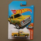 Hot Wheels 2017 HW Hot Trucks '78 Dodge Li'l Red Express Truck (yellow) (SEE CONDITION)
