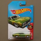 Hot Wheels 2017 HW Flames '69 Ford Torino Talladega (green) (SEE CONDITION)