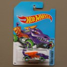 Hot Wheels 2017 Street Beasts Dragon Blaster (purple) (Treasure Hunt)