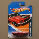 Hot Wheels 2011 Muscle Mania '67 Shelby GT-500 (red) (SEE CONDITION)