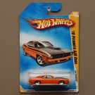 Hot Wheels 2009 HW Premiere '70 Plymouth AAR Cuda (orange) (SEE CONDITION)