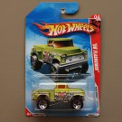 Hot Wheels 2010 Race World Desert '56 Flashsider (green) (SEE CONDITION)