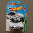 Hot Wheels 2016 HW Green Speed Tesla Model S (ZAMAC silver - Walmart Excl.) (SEE CONDITION)