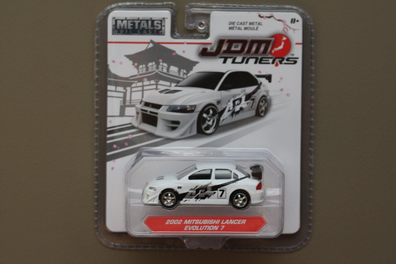 Jada Toys 2017 JDM Tuners (#2) '02 Mitsubishi Lancer Evolution 7