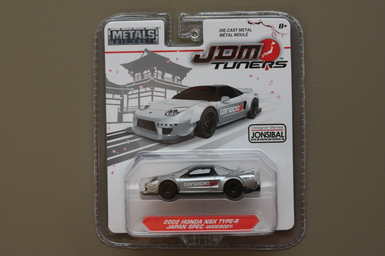 Jada Toys 2017 JDM Tuners (#2) '02 Honda NSX Type-R Japan Spec Widebody