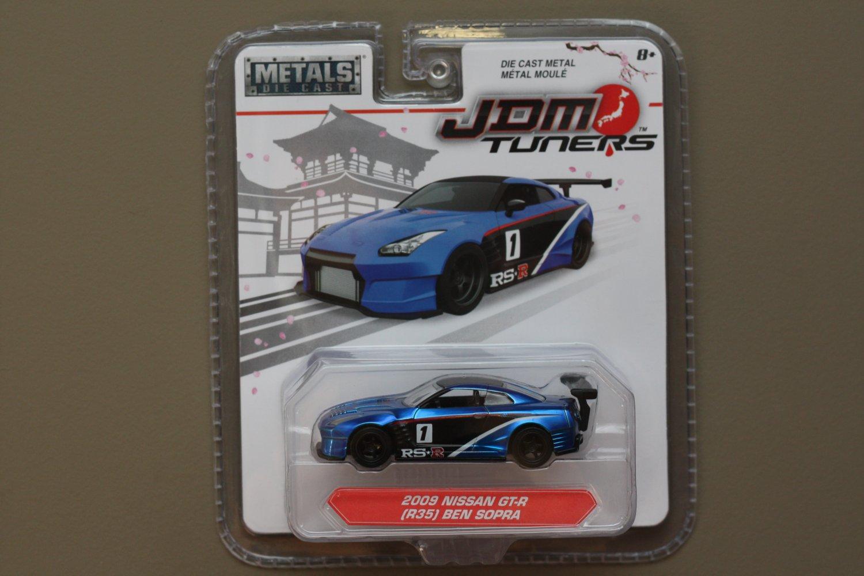 Jada Toys 2017 JDM Tuners (#2) '09 Nissan GT-R [R35] (Ben Sopra)