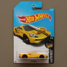 Hot Wheels 2017 Nightburnerz '17 Ford GT (yellow)
