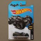 Hot Wheels 2016 Batman Arkham Knight Batmobile (gunmetal grey) (SEE CONDITION)
