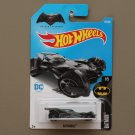 [WHEEL ERROR] Hot Wheels 2017 Batman Batmobile (Batman vs. Superman Dawn Of Justice) (grey)