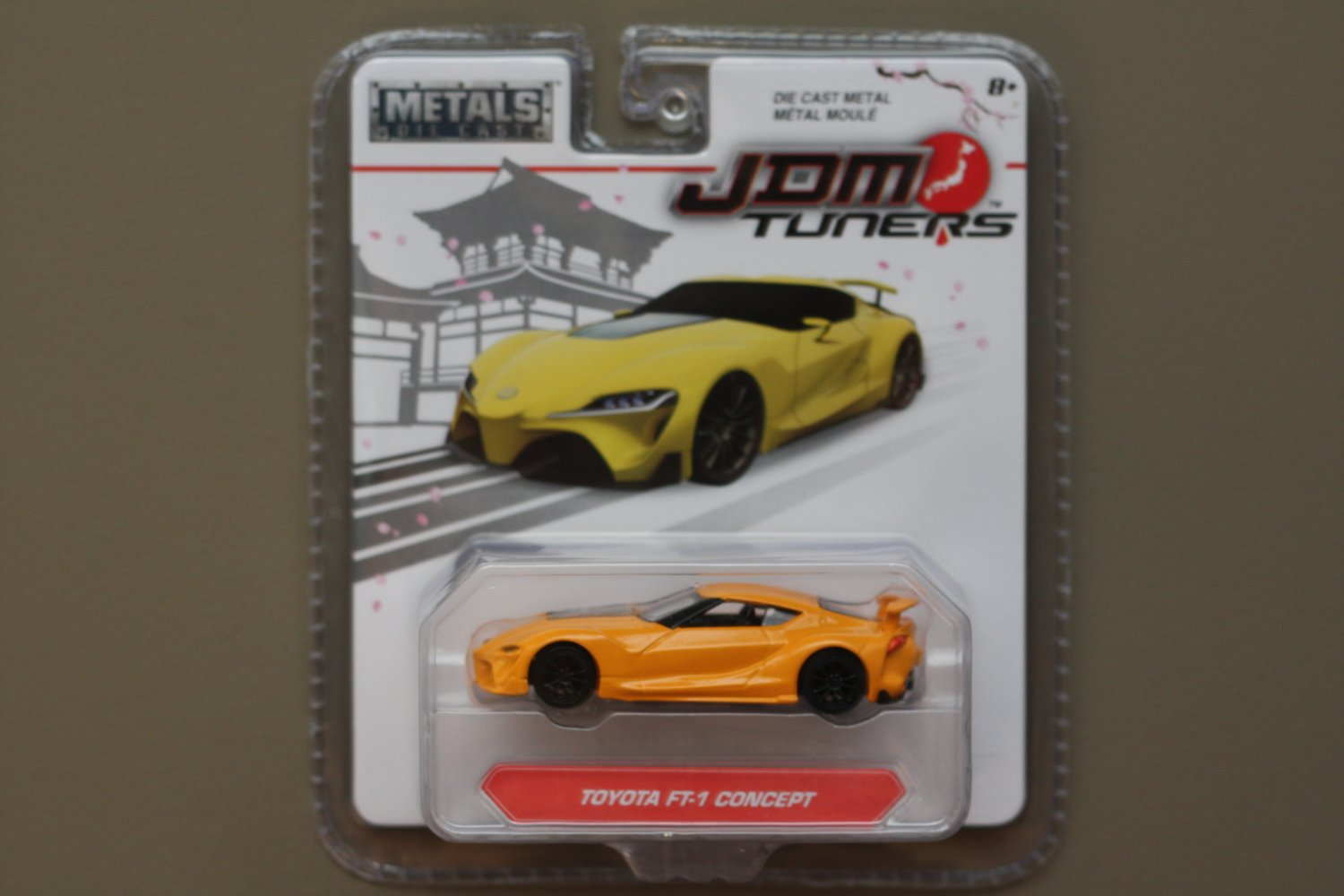 Jada Toys 2017 JDM Tuners (#2) Toyota FT-1 Concept