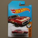 Hot Wheels 2017 Muscle Mania '67 Pontiac Firebird 400 (burgundy) (SEE CONDITION)