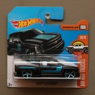 Hot Wheels 2017 HW Hot Trucks Chevy Silverado (black)