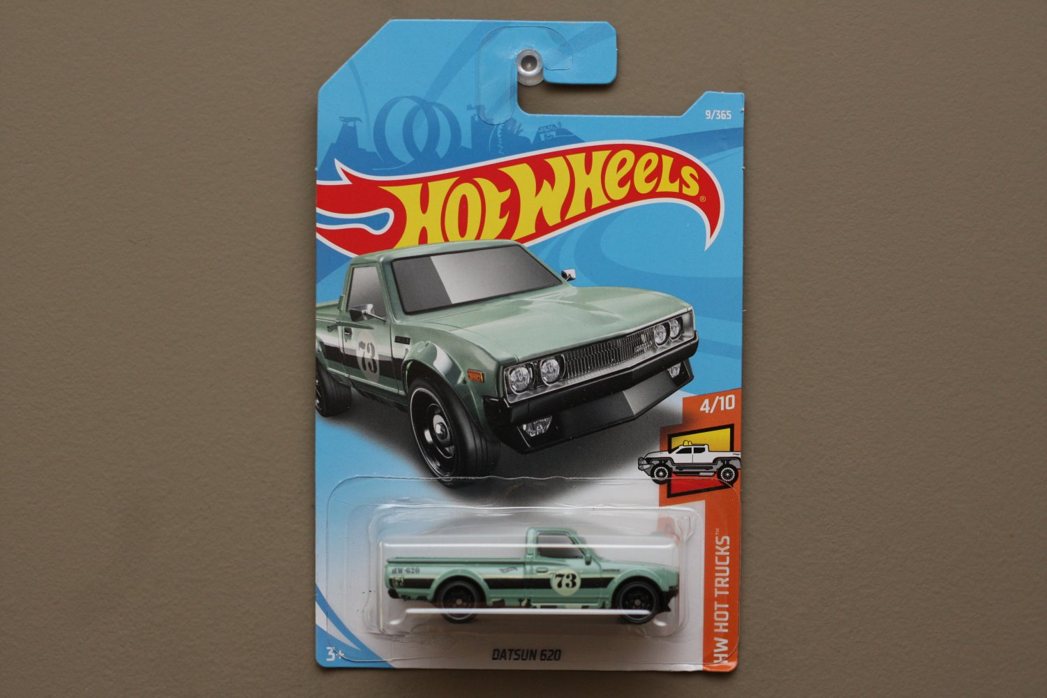 Hot Wheels 2018 HW Hot Trucks Datsun 620 (vintage green)