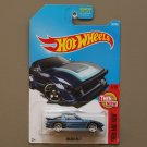Hot Wheels 2017 Then And Now Mazda RX-7 (blue) (SEE CONDITION)