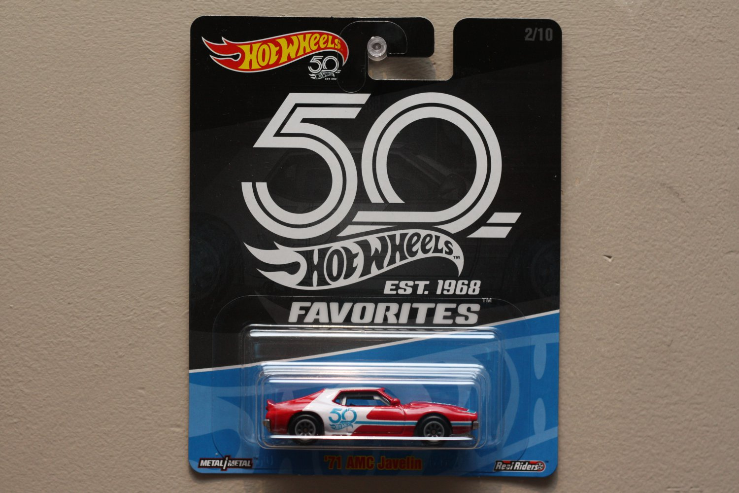 Hot Wheels 2018 50th Anniversary Favorites Series '71 AMC Javelin AMX