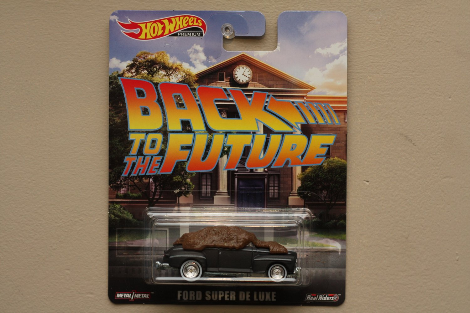 Hot Wheels 2019 Entertainment Back To The Future Ford Super De Luxe