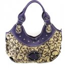 G PURPLE HANDBAG