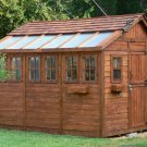 Cedar Series Greenhouse/Garden Shed