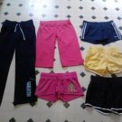 lot of 6 womens & jrs athletic shorts pants size small Adidas Nike American Eagl