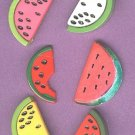 Slices of Melons fruit buttons