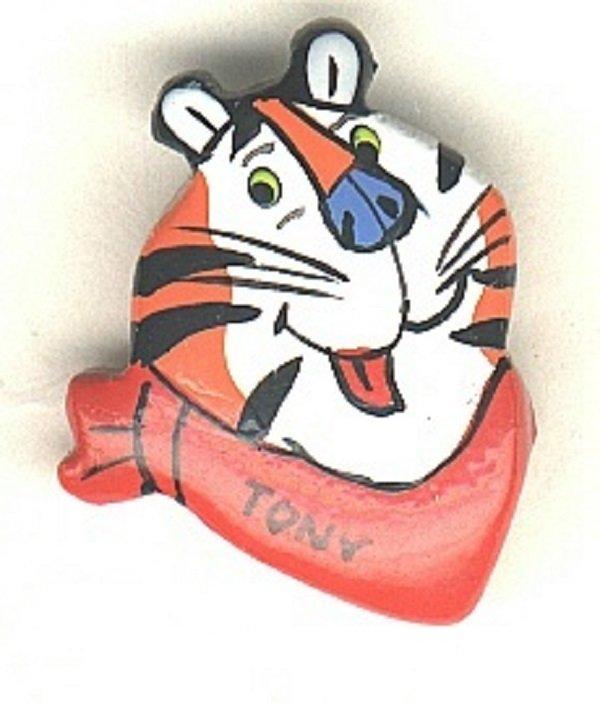 Kellogg's Tony The Tiger button