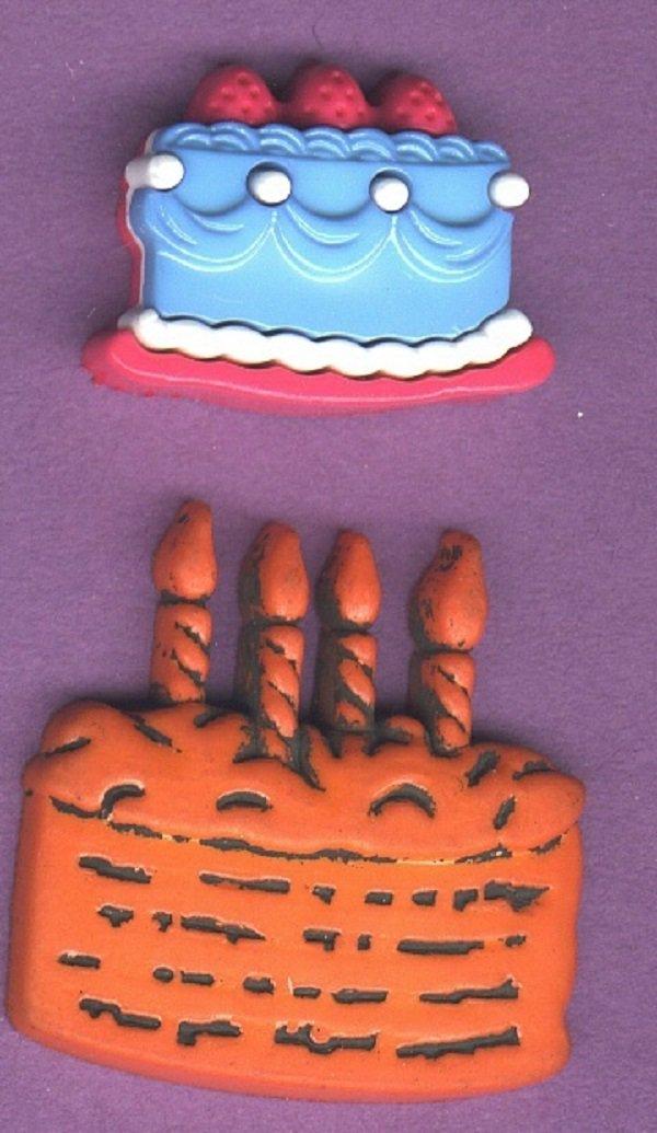 Cake  BUTTONS modern realistics