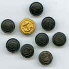 U.S. Merchant Marine uniform buttons antique buttons