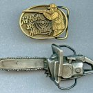 Men's buckles pewter and brass