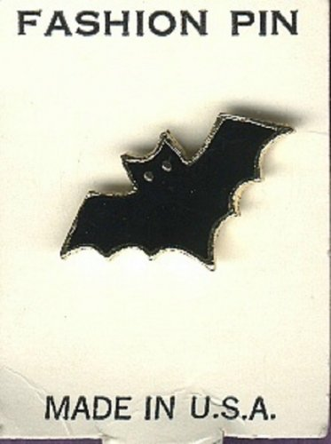 Bat realistic scatter pin for Halloween