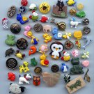 58 animal life buttons modern and a few vintage buttons