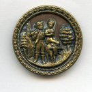 Radlauf the Miller pictorial button antique brass button